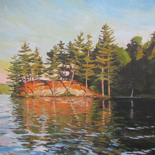 Island, Bass Lake