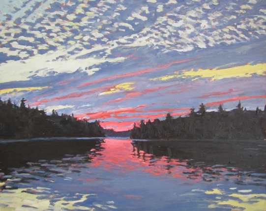 Sunset, Bass Lake
