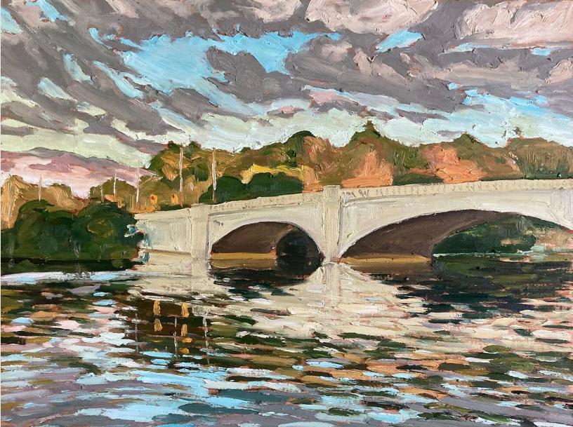 Inverlea Bridge III, Peterborough by John Climenhage