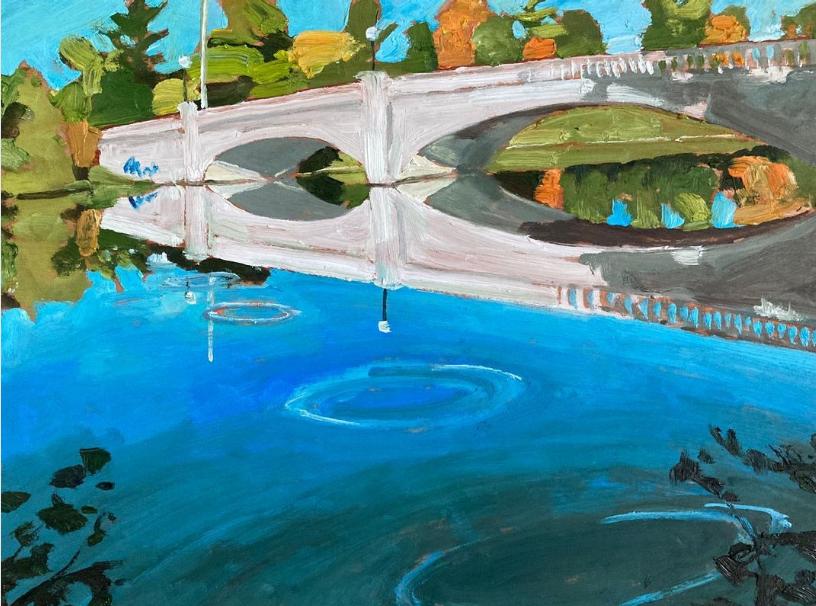 Inverlea Bridge by John Climenhage